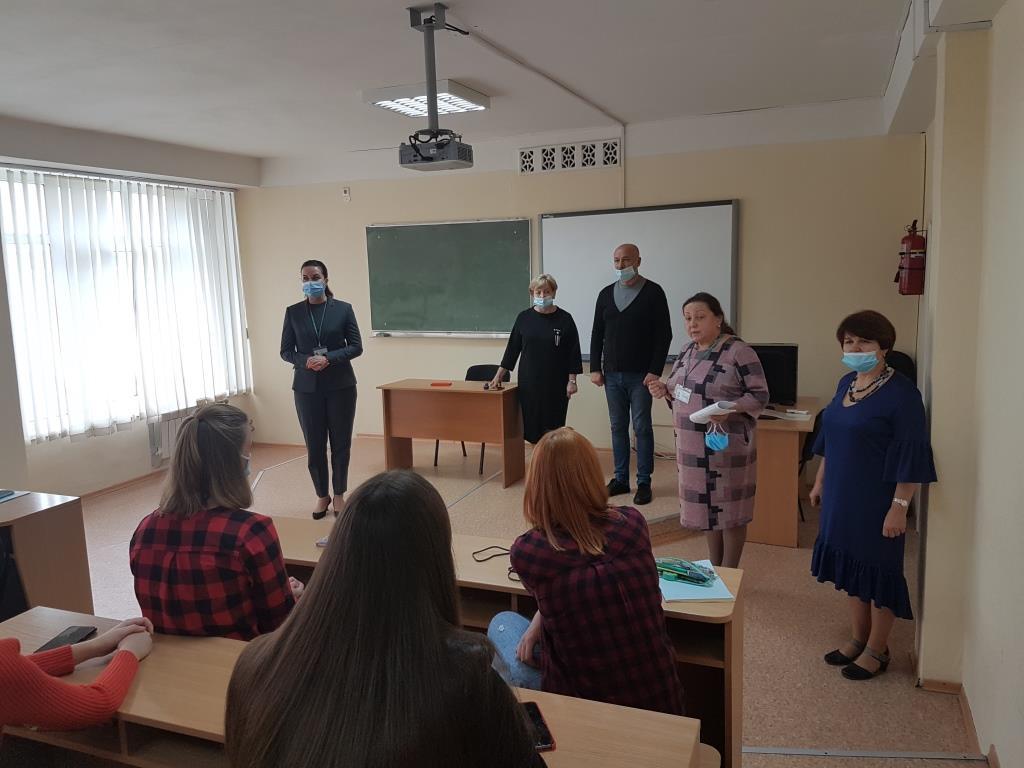 Настановча зустріч адміністрації з магістрантами Інституту
