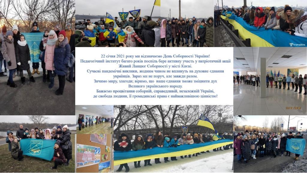 День Соборності України 22 січня 2021 року